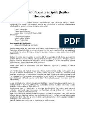 homeopatie și erecție)