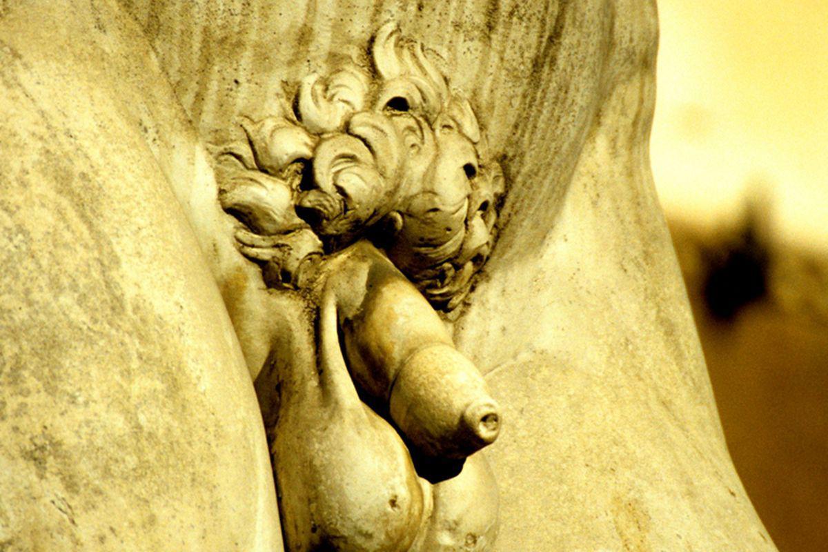 erecție în sculptură