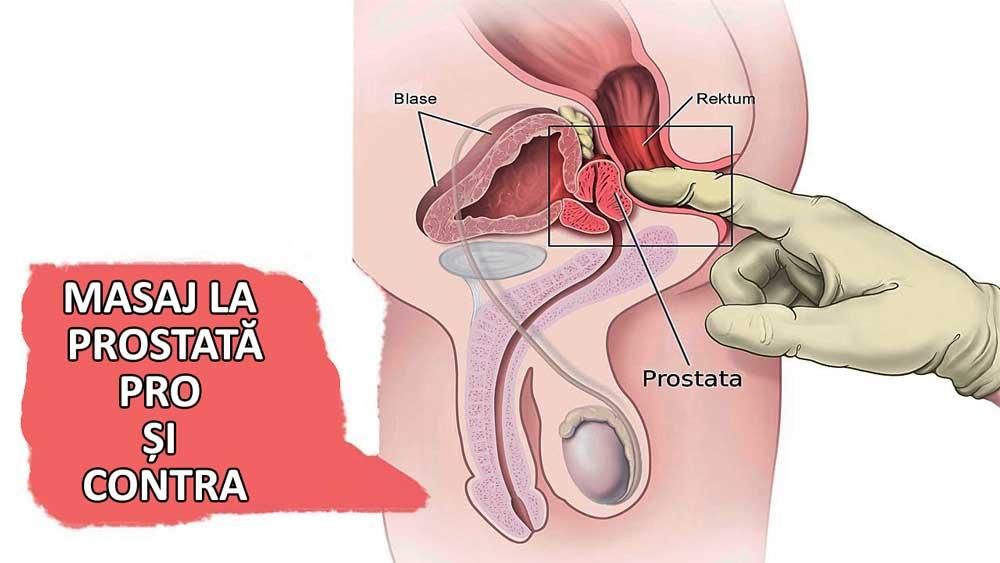 erecție și masaj de prostată)