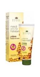 Crema hidratanta cu miere, aloe vera si ulei de masline, pentru ten uscat ml Natural