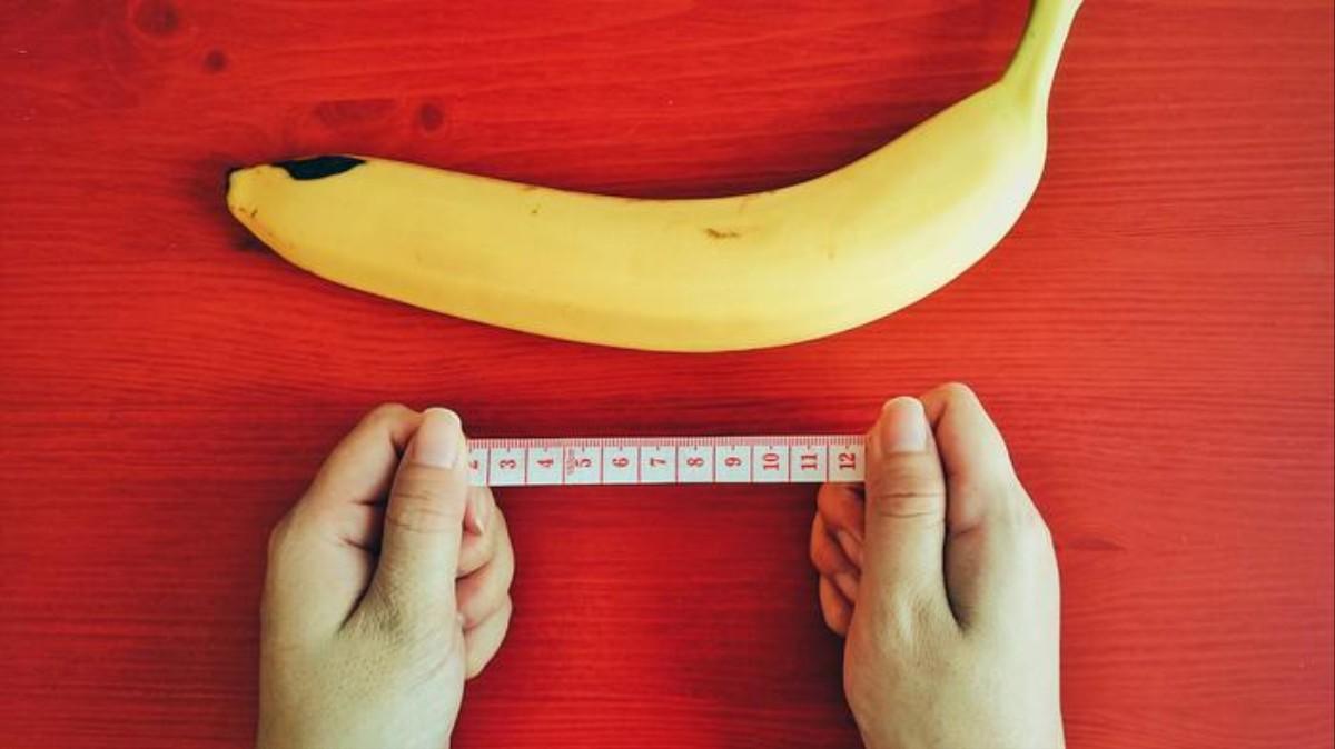 măsoară lungimea penisului