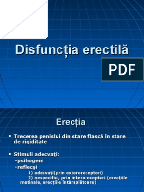 erecția dopaminei