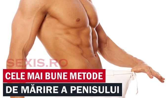 creșterea testosteronului și mărirea penisului