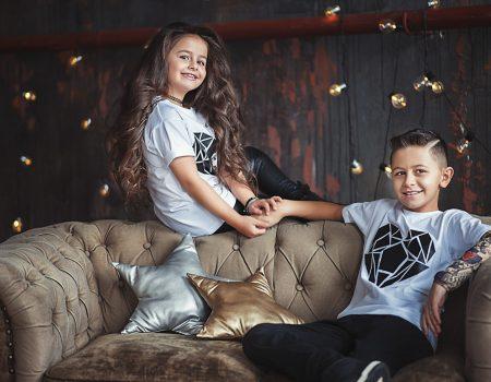 Frate și soră set de îmbrăcăminte