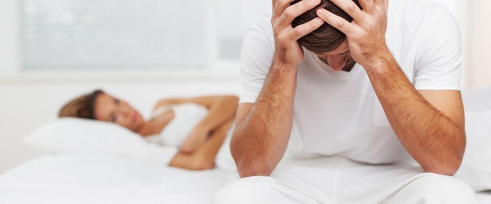 erecția cade înainte de începerea actului sexual)