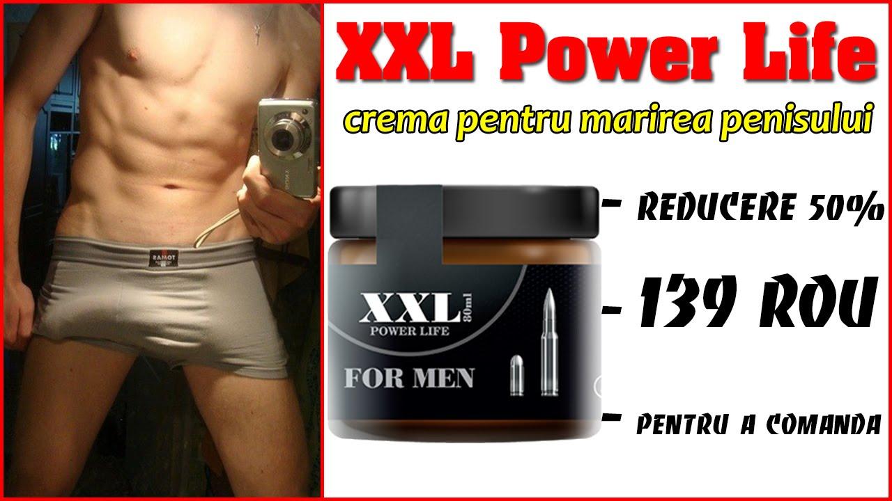 Penis XXL – Cremă Pentru Mărirea Penisului Si Erecție, 80 ml