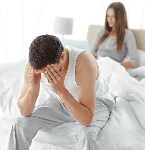 de ce dispare o erecție în mijlocul actului sexual