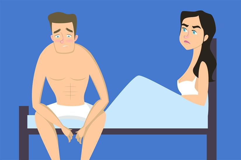 arată dimensiunile penisului o erecție se oprește în timpul actului sexual