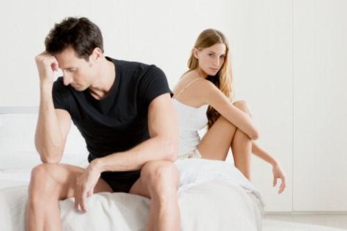 lipsa erecției erecție slabă)