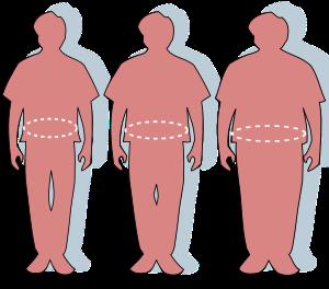 modul în care greutatea în exces afectează dimensiunea penisului