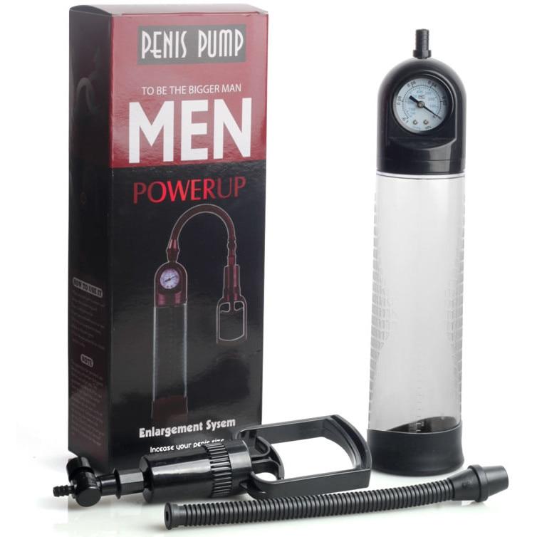Pompa cu manometru pentru marirea penisului